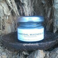 """KhAF"" Men Deodorant Cream ~CHARCOAL MAGNESIUM~ Natural Aluminum FREE"