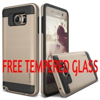 Back Case Cover Verus Verge Steel Spigen Samsung Galaxy Note 5 Casing
