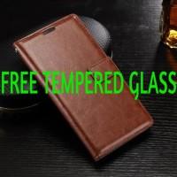 Leather Kulit FLIP COVER WALLET Samsung J7 Prime/C9 PRO Case Casing Hp