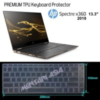 Keyboard Protector for HP Spectre x360-13 2018  - High Grade TPU Clear