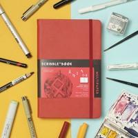 Sketchbook Multipaper Scribblebook By Area 52
