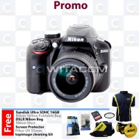 Nikon D3400 AF-P DX 18-55mm f/3.5-5.6G VR / Nikon D 3400 Kit