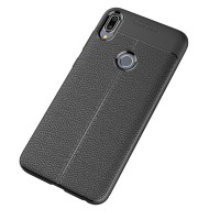 Leather Hard Soft Case Asus Zenfone Max Pro M1 Casing HP Kulit Silikon