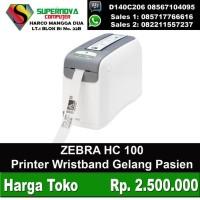 Printer WRistband Gelang Pasien ZEBRA HC 100