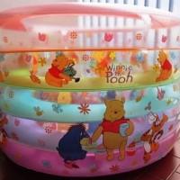 Kolam Bayi Baby Spa Bulat 5 Ring Winnie The Pooh
