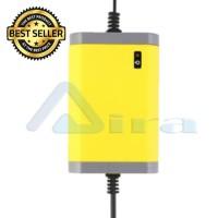 Casan Aki / Accu Kering Motor Mobil - Portable Battery Charger 12V/2A