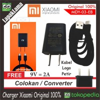 Charger hp Xiaomi 2A Original ORI 100% Chargeran Kabel Data 100 % ORI
