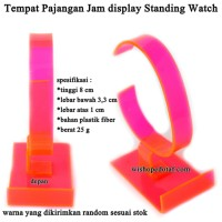 Tempat Pajangan Jam display Standing Watch