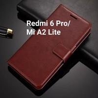 Flip Cover Xiaomi Redmi 6 Pro Mi A2 Lite Wallet Leather Case Casing HP