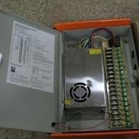 power suply cctv 12v 20a + box