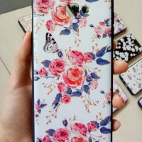 Case Samsung j4/j6/j2 prime Cath Kidstone Flower + Tempered Glass set