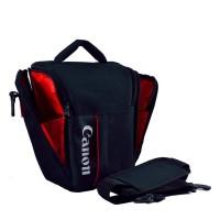 Bag Camera. Tas Kamera Canon (Muat 3 Lensa)   Pelindung Hujan