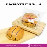 Roti Pisang Coklat PREMIUM | roti manis | kue | camilan