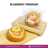 Roti Blueberry PREMIUM | roti manis | kue | camilan | bluberi