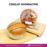 Roti Coklat Ovomaltine PREMIUM | roti manis | kue | camilan| cokelat