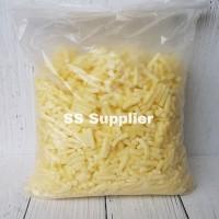 Keju Mozarella 1 KG / Mozzarella Cheese Anchor Shredded / Halal
