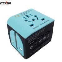 🔌Travel Adaptor 3 USB Port   Universal Travel Adapterv