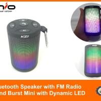 📻 Bluetooth Speaker with FM Radio - KZY   Sound burst mini