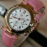 Jam Tangan Wanita GC Date Crono Actif Kw Super Leather Barang Oke