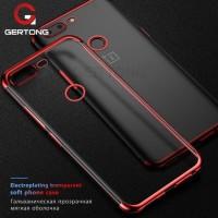 Softcase TPU Mirror List Chrome Siikon Case Cover Case HP One Plus 5