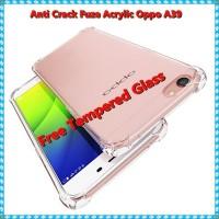 Softcase TPU Anti Crack Tranparan Case Cover Casing HP Oppo A39 A57