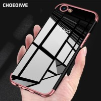 Softcase TPU Mirror Plating List Chrome Case Cover Case HP Oppo A83
