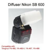 Flash Diffuser Yongnuo 460 460 II 467 468, Nikon SB600 SB800 Difuser