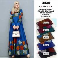 B898 MAXY JUMBO Calvin Jeans Jumbo, Busui / Dress Muslimah / Gamis Big