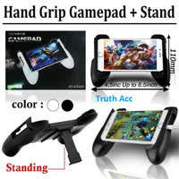 gamepad universal mobile game joystick handle holder hp standing hp