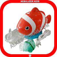 Jual Nebulizer Compressor Karakter Lucu Nemo Fish Untuk Anak - Bagus Funny Murah