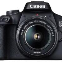 Canon EOS 4000D kit 18-55MM wifi Terbaru