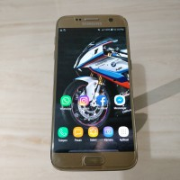 Hp samsung galaxy s7 flat 4/32gb second seken bekas