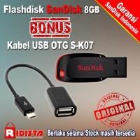 Flashdisk Sandisk Cruzer Blade 8GB+Bonus OTG J361