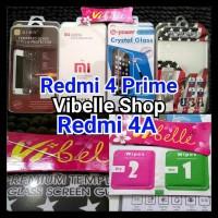 Tempered Glass Untuk Xiaomi Redmi 4 4A Prime Screen Guard Anti Gores