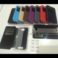 Flip Cover Andromax A Smartfren Leather Case \U002F Sarung Hp