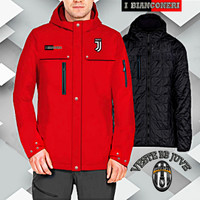 JAKET HOODIE JUVENTUS NEW MODEL WATERPROOF