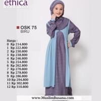 gamis anak by Ethica OSK 75 biru size no.4