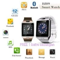 Smartwatch U9 Smart Watch DZ09 Free batre cadangan Murah Berkualitas