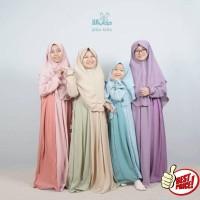 GAMIS FITRI KIDS Size 4-12 | Gamis Anak Hijab Alila Kids
