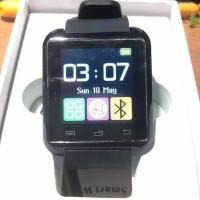 Produk Terbaru Smartwatch U Watch U8 - Black Smart Watch - Hitam