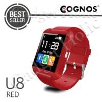 Produk Terbaru Smartwatch U Watch U8 - Red Uwatch Smart Watch
