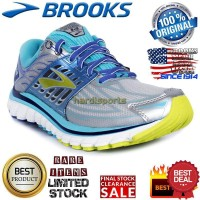 Sepatu Running Brooks Glycerin 14 120217-1B151 Silver Blue Original