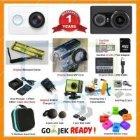 Paket Xiaomi Yi Super Lengkap - Putih kamera camera murah