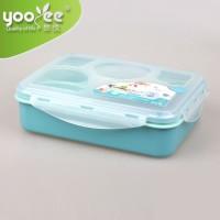GROSIR Yooyee Lunch Box Kotak Makan Sup Sekat 5 untuk Bento Set 393