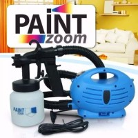 Paint Zoom Paint Gun Spray Alat Cat Otomatis Aneka Bahan Pertukangan T