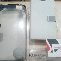 Capdase Sider Polka Folder Case Samsung Galaxy Note 1 GT-N7000 - White