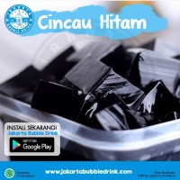 Bubuk Cincau Hitam - Grass Jelly Powder - Serbuk Topping Minuman