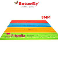BUTTERFLY BT-R3/ MAL HURUF 3MM Termurah dan terlaris