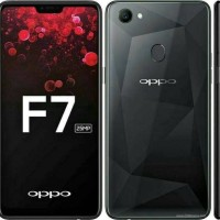 HP OPPO F7 BLACK - RAM 4GB - INTERNAL 64GB - 25MP Front Camera