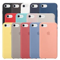 IPHONE 6 6S S SILICONE CASE ORIGINAL BY APPLE HARD CASING SOFT Lengkap